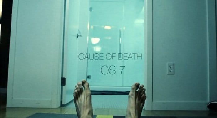 Cause of Death iOS 7