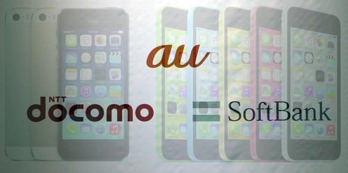 iPhone 5s/5cの販売台数でSoftBank圧勝、ドコモに僅差で敗れたauが最下位 BCN