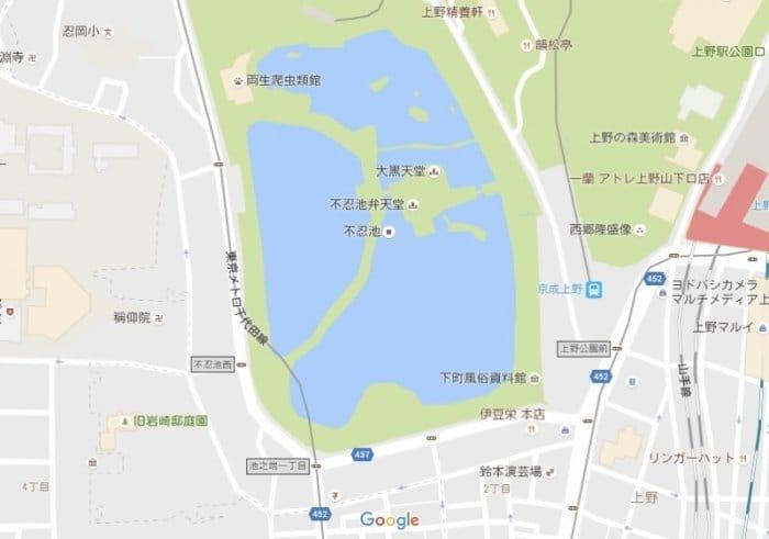 上野・不忍池