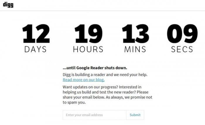 Diggが開発中のRSSリーダーを6月26日に全面公開へ、IFTTT連携や検索機能を実装予定