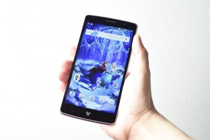 Disney Mobile on docomo DM-01G