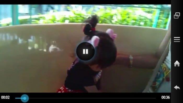 dropbox 動画ファイルのストリーミング再生