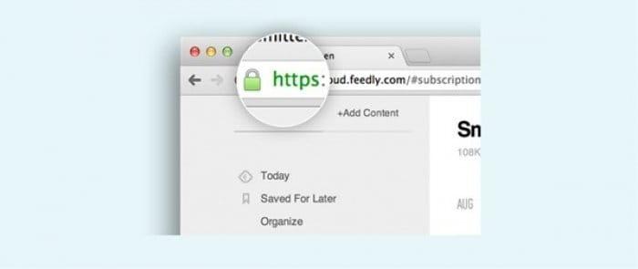 Feedly Pro HTTPSプロトコル