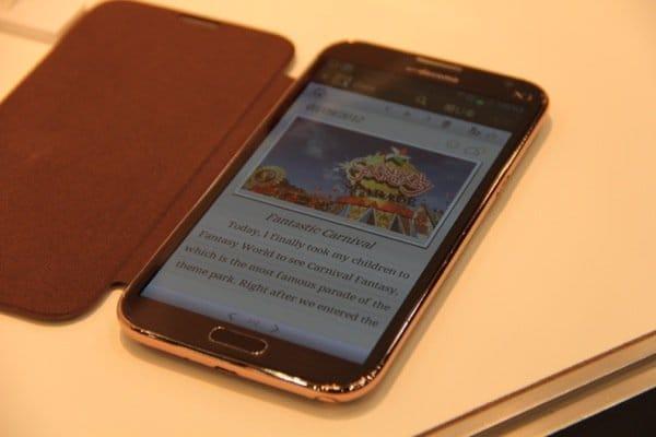 ドコモ「GALAXY Note II SC-02E」の発売日は11月16日を予定、事前予約受付は11月9日に開始