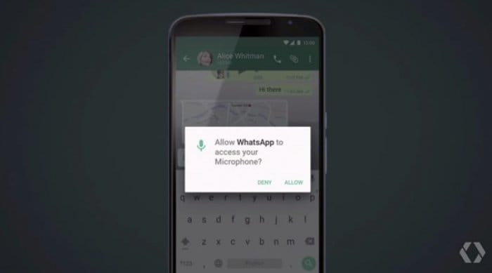 Android M:App Permissions
