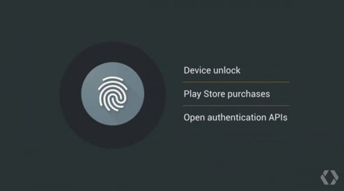 Android M:指紋認証機能