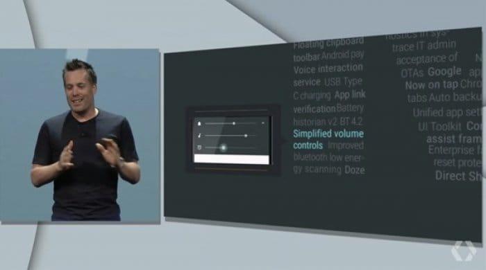 Android M:ボリューム調節機能