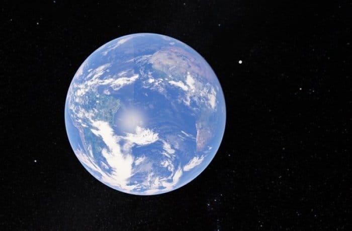 Googleマップ 月食