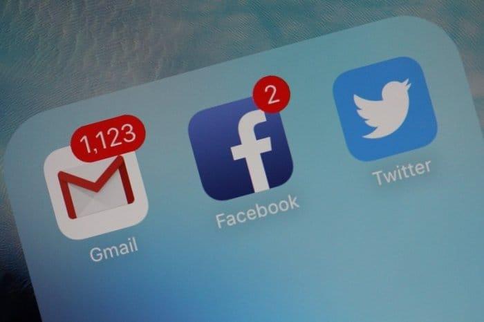 Gmail Facebook Twitter