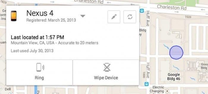 スマホ紛失・盗難対策サービス「Android Device Manager」