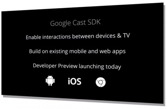 Google Cast SDK