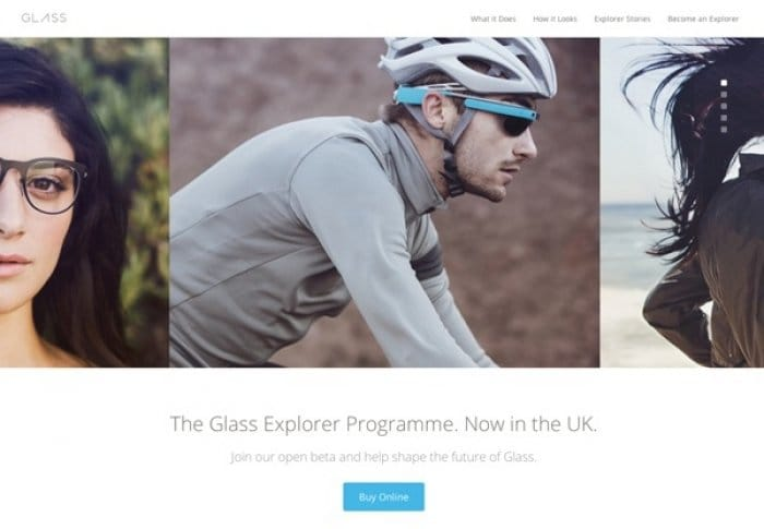 Google Glass UK