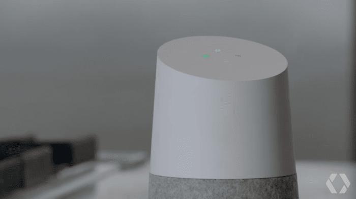 Google Home LED