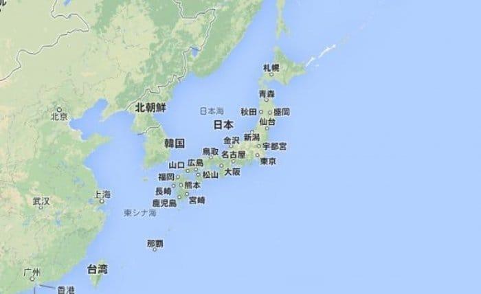 日本 日本地図マップ : 日本政府がGoogleマップの利用 ...