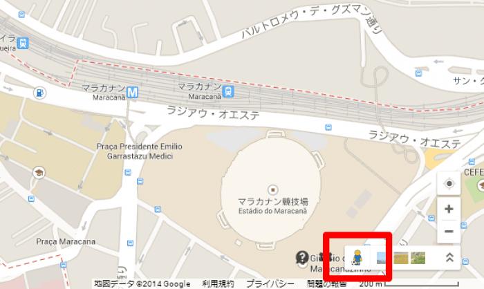 Google Maps ペグマン
