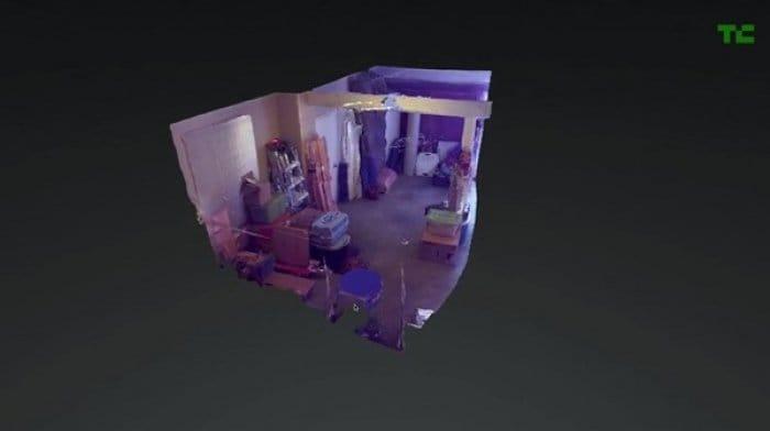 Project Tango 3Dマッピング