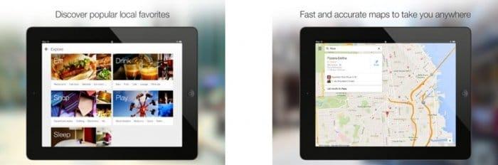 Googleマップ iPad