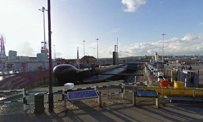 Google Maps HMS Ocelot