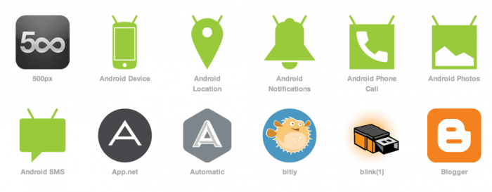 IFTTT Androidチャンネル