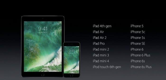 iOS10 アップデート