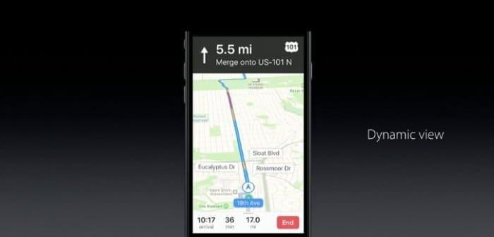 iOS 10 マップアプリも刷新、開発者に開放