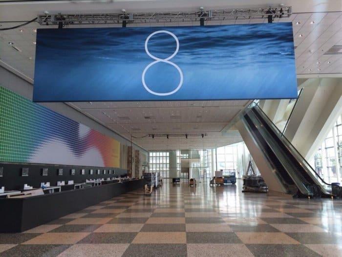 iOS 8 バナー
