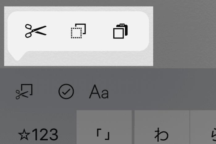 iPad:テキスト編集機能