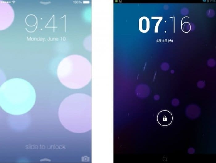 iOS 7 & Android