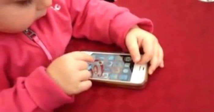 【動画】iOS 7に戸惑う赤ちゃんが可愛すぎる