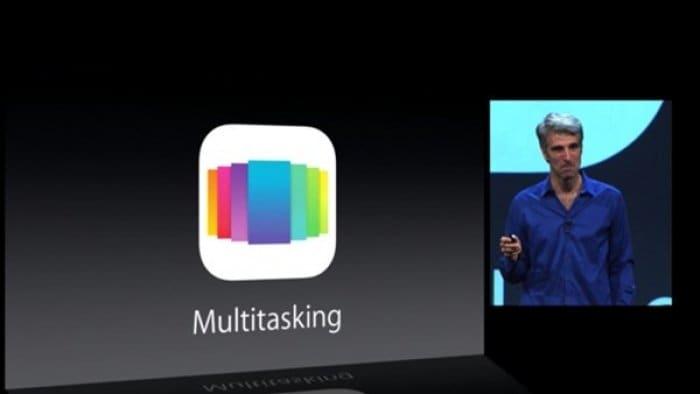 iOS 7 マルチタスキング