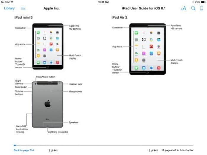 iPad mini 3 iPad Air 2