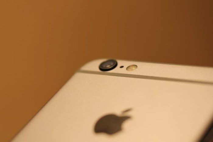 iPhone カメラ スクリーンショット