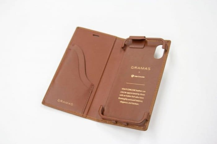 "おすすめ05:GRAMAS ""TOIANO"" Full Leather Case"