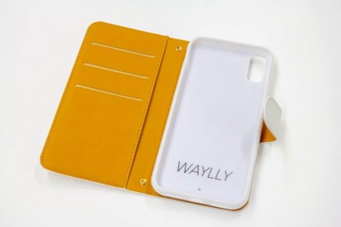 おすすめ07:TAERI×WAYLLY(STAR) + WAYLLY専用ミラー付き手帳型ケース