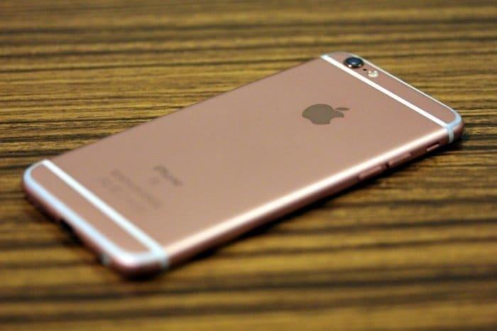 iPhone 6s フェイスダウン検知
