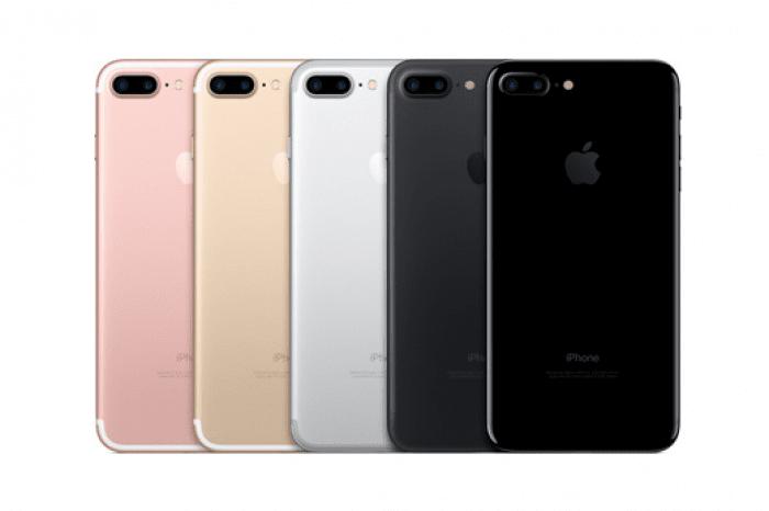 iPhone 7/iPhone 7 Plus カラーバリエーション