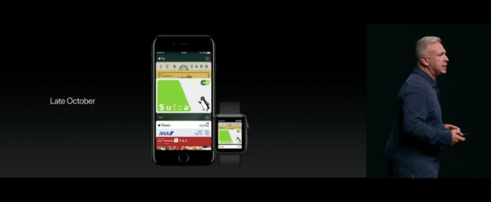 日本でApple PayとFeliCaが利用可能に Suicaなども対応