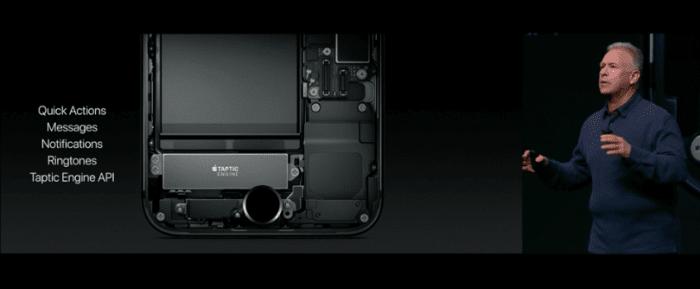 iPhone 7/iPhone 7 Plusの新ホームボタン