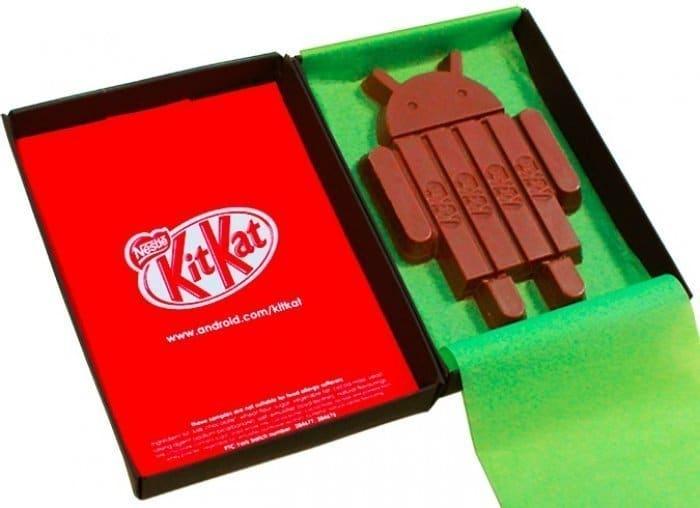 Androidロボット型限定KIT KAT