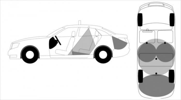 タクシー忘れ物防止システム