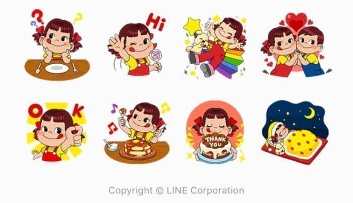 【LINE無料スタンプ】『ブラウンファーム : ペコちゃんコラボ』が登場、配布期間は1月16日まで