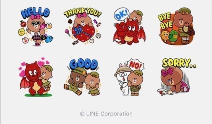 【LINE無料スタンプ】『バブル2×チョコ 限定コラボスタンプ』が登場、配布期間は2月14日まで