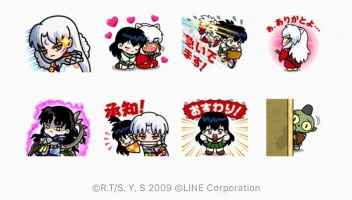 【LINE無料スタンプ】『LINE レンジャー×犬夜叉コラボ』が登場、配布期間は6月29日まで