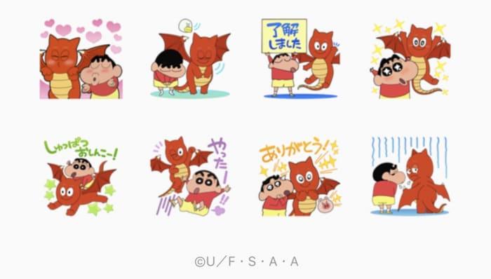 【LINE無料スタンプ】『バブル2xクレヨンしんちゃんコラボ!』が登場、配布期間は2月19日まで