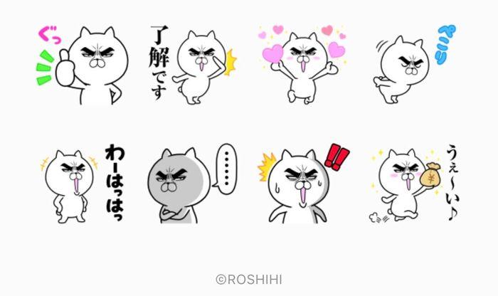 【LINE無料スタンプ】『目ヂカラ☆にゃんこ × LINEスコア』が登場、配布期間は6月2日まで