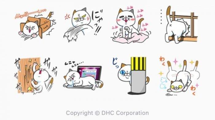 【LINE無料スタンプ】『ヨシ子の猫あるある!早く送りたいVer.』が登場、配布期間は1月10日まで