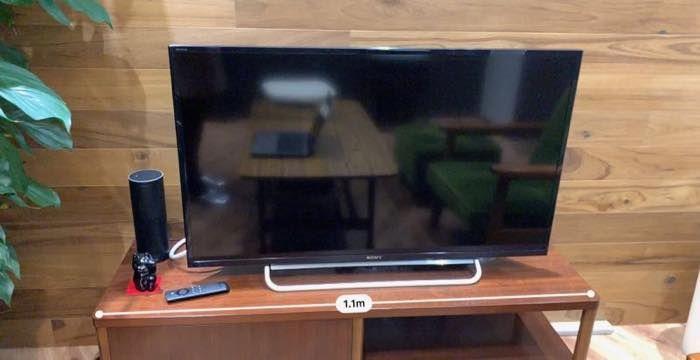 家具の横の長さ:誤差10cm程度