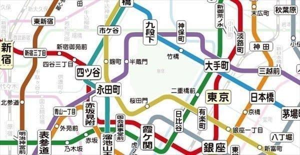 東京メトロトンネル内携帯電話利用可能エリア