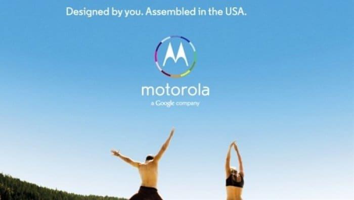 Moto X 広告
