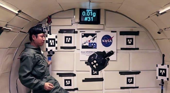 NASA Tango搭載SPHERES